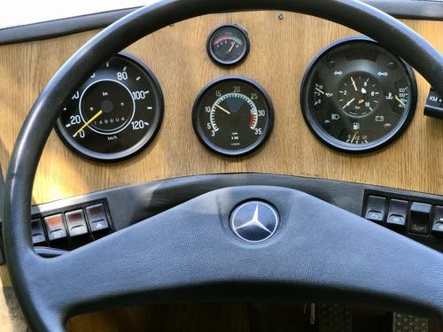 motorhome mercedes benz 1619 om366a casa rodante automático