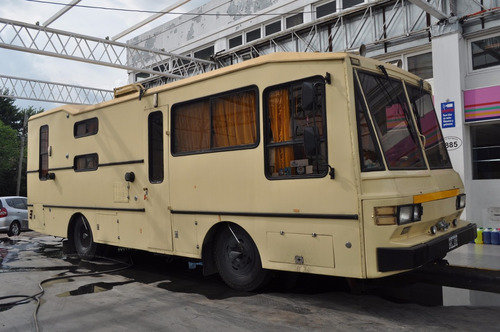 motorhome mercedes benz - impecable tv - dvd - 220 y 12v
