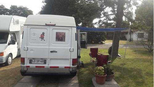 motorhome mercedes benz mb100 alemana