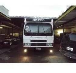 motorhome trailer onibus caminhão mb 1113 turbo ano 86