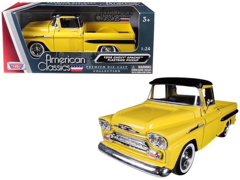 Motormax 1958 Chevrolet Apache Fleetside Escala 124 Ca5 69000
