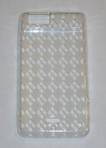 motoroi droid x funda funda carcaza silicon resina