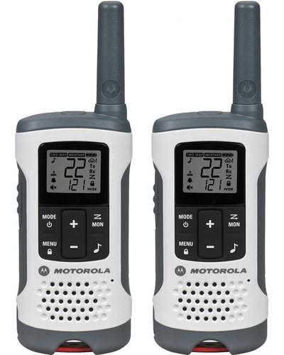motorola 2 radios t280 40km walkie talkie recargable 33 cana