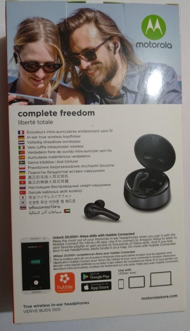 Motorola Bluetooth Verve Buds 500 Original Msi Envío Gratis