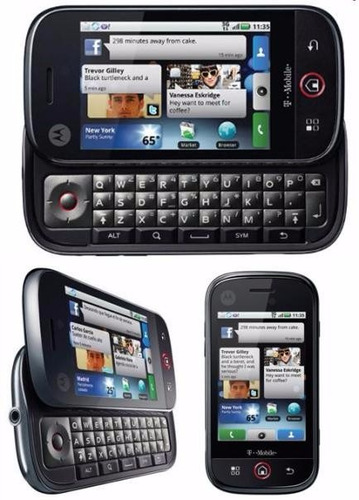motorola dext mb200 qwerty touch android wifi 3g gps celular