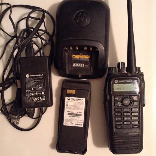 motorola dgp 6150 + two-way radio - digital dmr 450-512 uhf