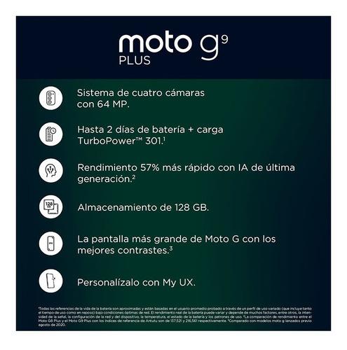motorola g9 plus 128gb rom 4gb ram