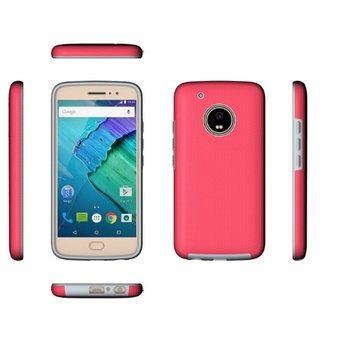 e90fb24eb Estuche Protector Antichoque Motorola Moto G5 Plus - Rosado -   68.900 en  Mercado Libre