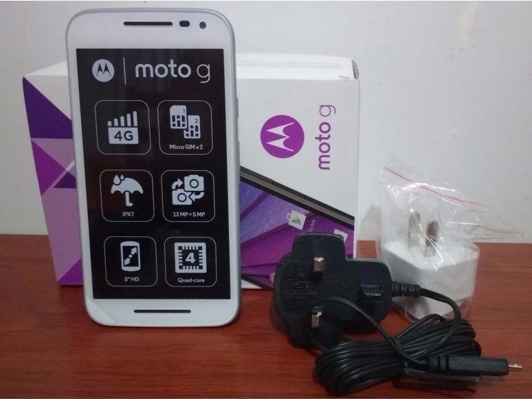 38e9c3998a1 Motorola Moto G 3ra Generacion Xt1542 Nuevo 8gb - Negro -ztr - S ...