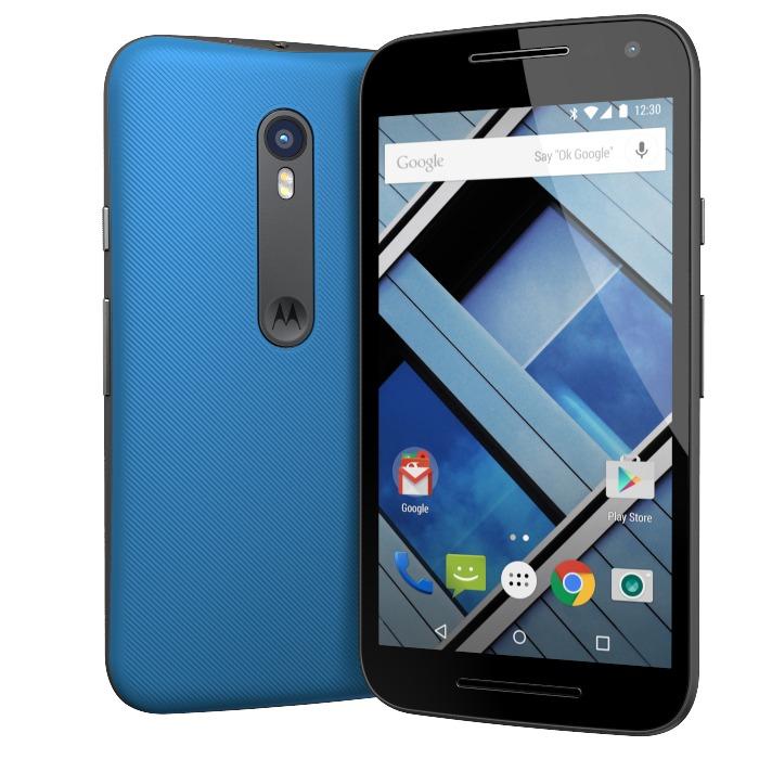9dc9dd5135a Motorola Moto G3 3ra Generación Xt1542 4g Lte Azul Libre Gt ...