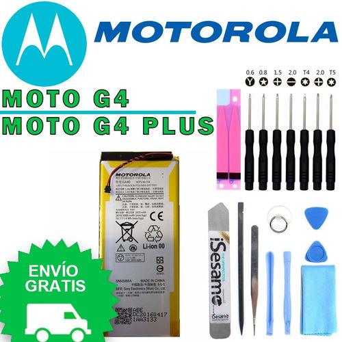 motorola moto g4 / moto g4 plus - batería original: ga40