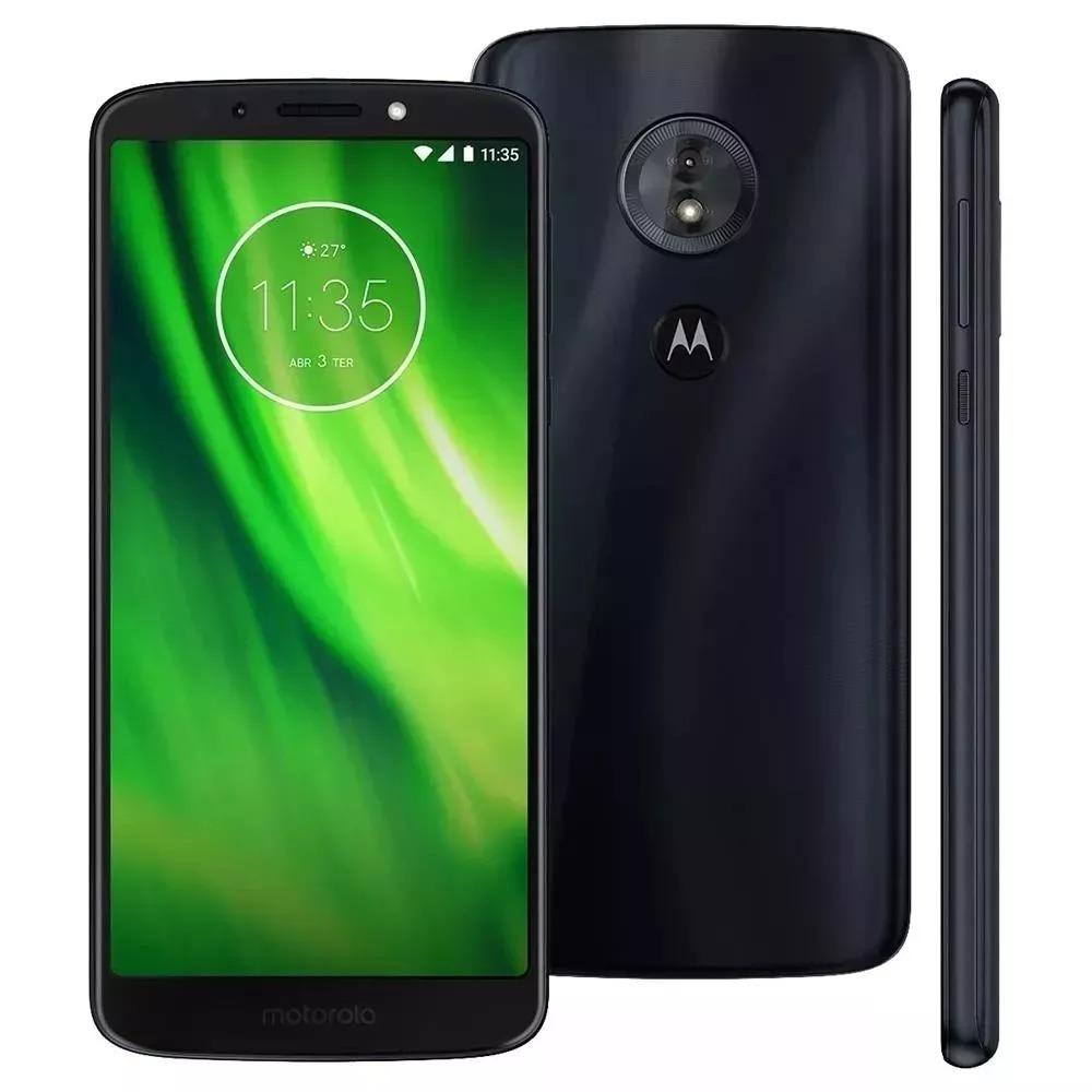 6af622432 Motorola Moto G6 Play 32gb Índigo Xt1922 Leia Anuncio - R  938