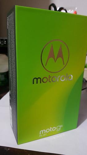 motorola moto g6 play nuevo en caja