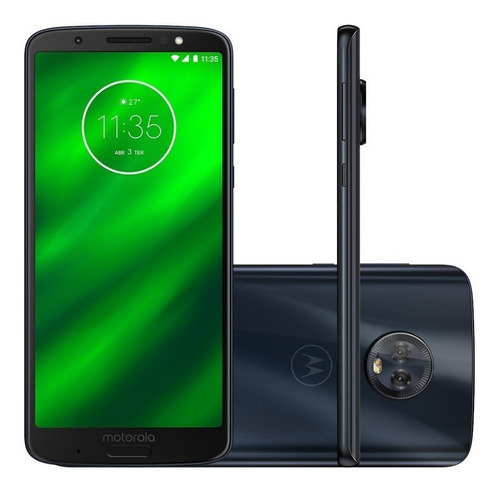 motorola moto g6 plus l/fáb duo 4g g4gb 4gb 12mp 5mp sellado