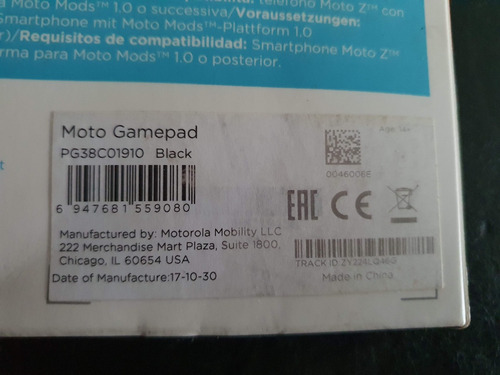 motorola moto mods gamepad pg38c01910