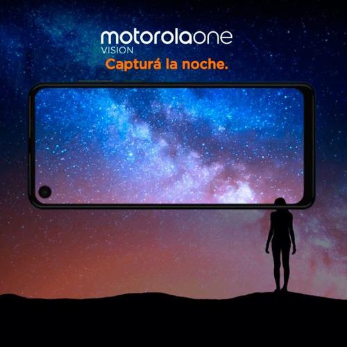 motorola moto one vision xt-1970 128gb 4gb night 48mp+5mp pe