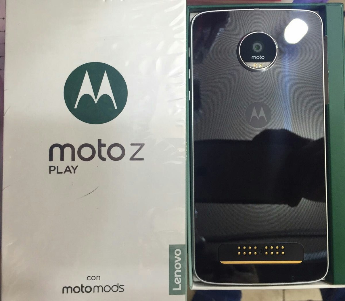 Motorola Moto Z Play Duos 4g 32gb 16mp 5mp 3gb Ram Caja