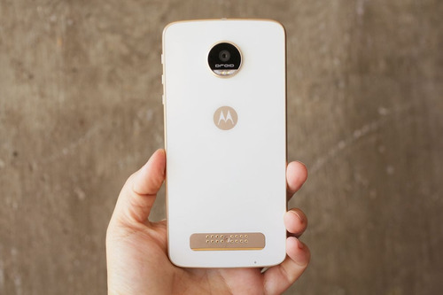 motorola moto z play duos blanco cam 16mp mem 32gb ram 3gb