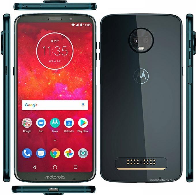 8e0e6fe8af Motorola Moto Z3 Play 6' 4g 64gb 4gb Ram Deep Indigo Palermo ...