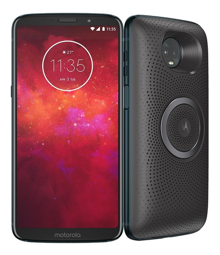 motorola moto z3 play 64gb indigo xt1929 sound edition