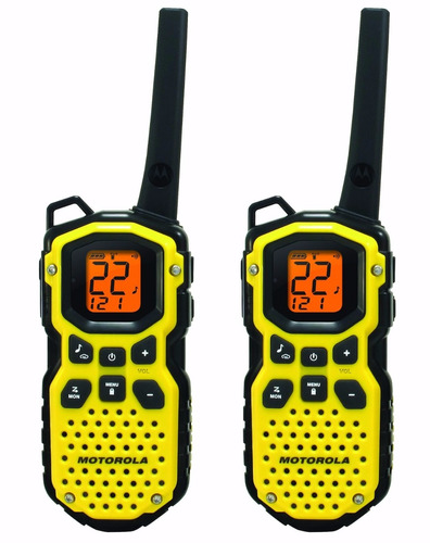 motorola ms350r 35-mile talkabout waterproof 2-way radio par