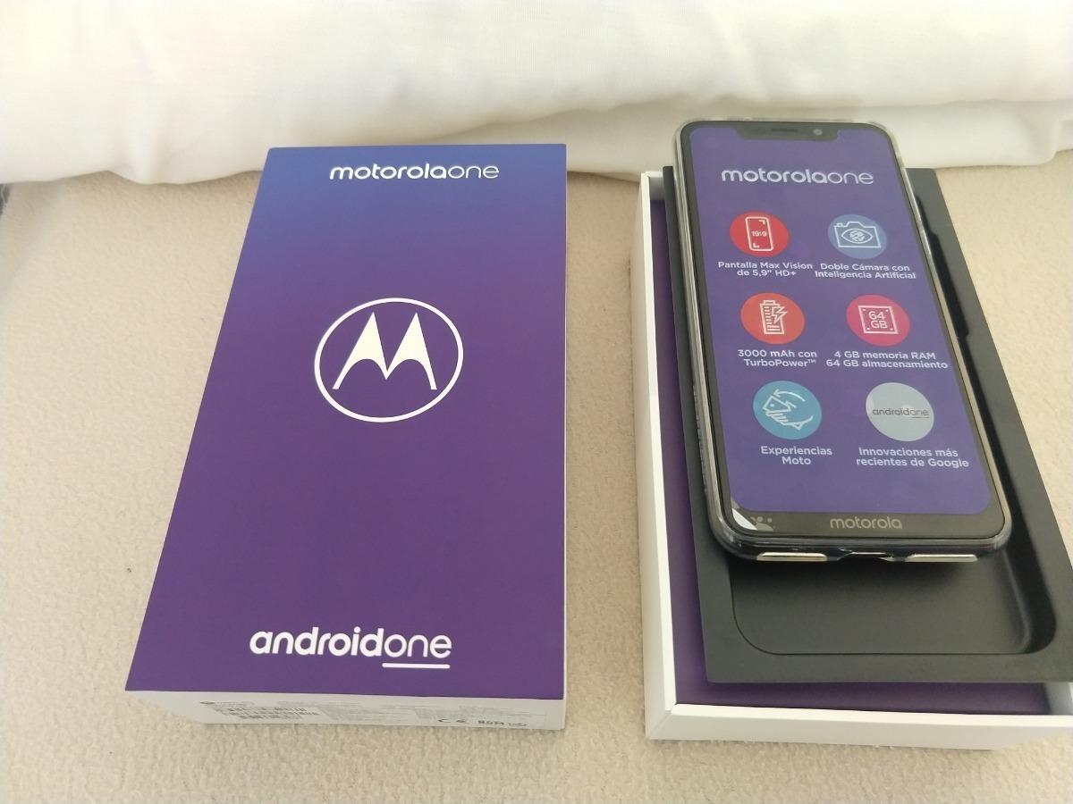 Motorola One Xt1941-5 Negro. Libre ¨!!! $9999 . - $ 9,999