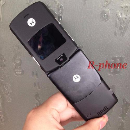 motorola v3 razr flip preto celular bom de sinal de vitrine