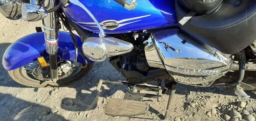 motorrad custom 200 azul