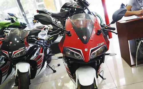 motorrad racer 150 r15 + casco de regalo