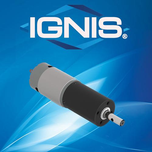 motorreductor ignis mr08d. de 12 o 24 vcc. hasta 88 kgf.cm