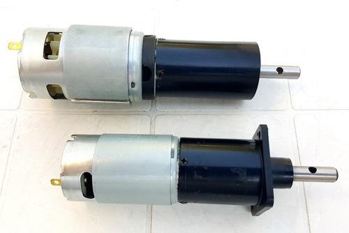 motorreductor motor caja reductor 12v  24v varios rpm