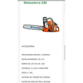 Motosierra Husqvarna Mod 236 en Mercado Libre México