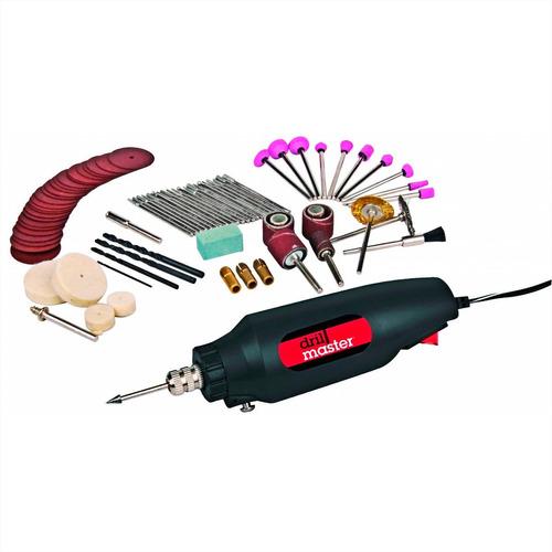 motortool mototool + 80 accesorios profesional pulir cortar