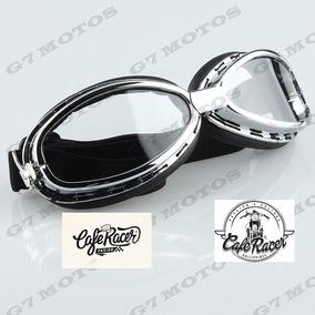 723dc2d53958d Óculos De Proteção Aviador Moto Custom Café Racer Bobber ...