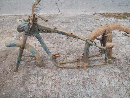motos antiguas -puch- tf-250