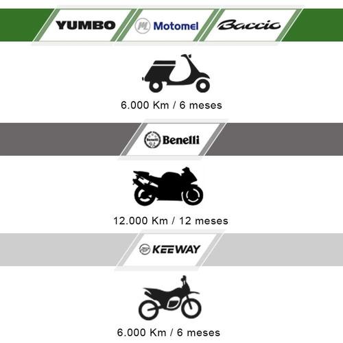 motos baccio px110 polleritas nuevas 0km casco regalo fama