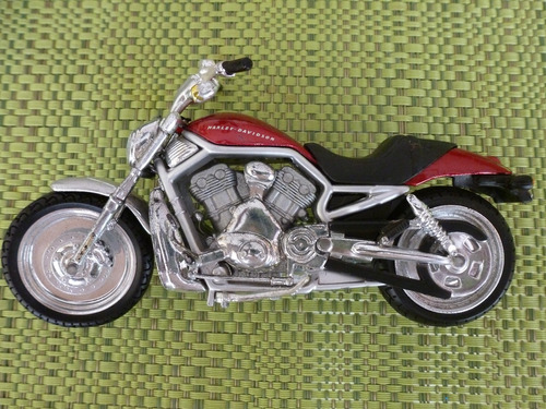 motos de colección no.2 harley - davidson a escala