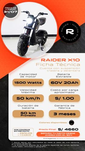 motos electricas raider arequipa - evita el contagio