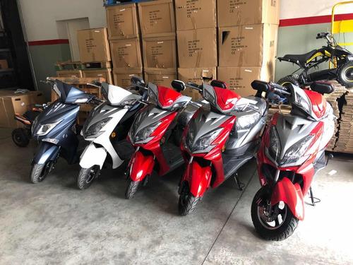 motos eléctricas sunra estilo vespa, y otras