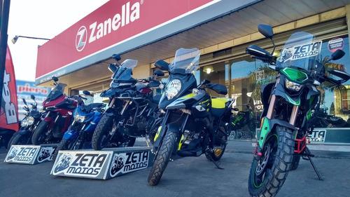 motos enduro zanella zr 250 gta con valijas outlet  18ctas