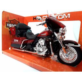 3808c2ab1cbeb Rojo Harley Davidson Electra Glide Ultra Escala 1 12 Maisto