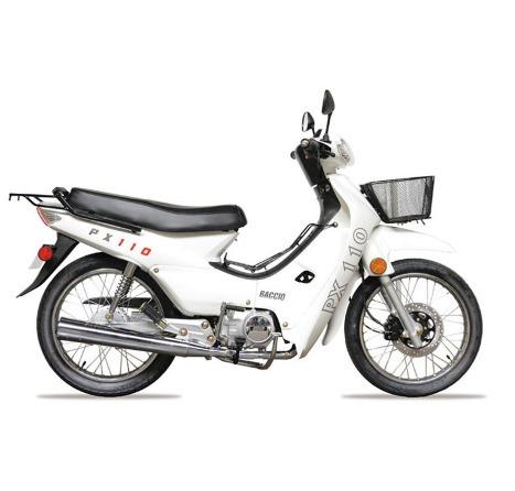 motos moto baccio p 110 + casco, vía confort