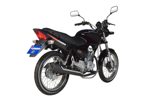 motos moto yumbo gs125 il led + casco