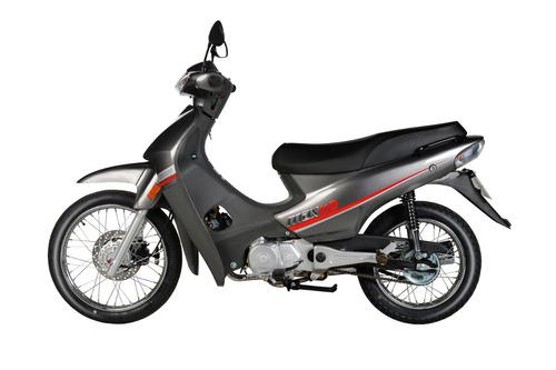motos moto yumbo max 110 + casco