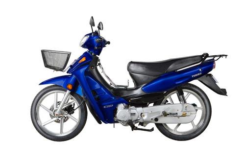 motos moto yumbo pollerita c 110 dlx aleación + casco