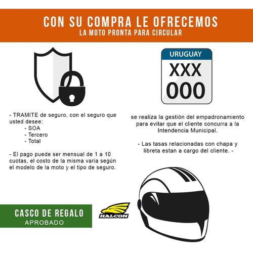 motos motomel stratoeuro 125 nuevas 0km con casco - fama