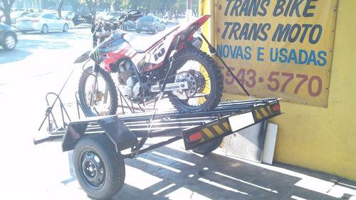 motos, motos, carreta
