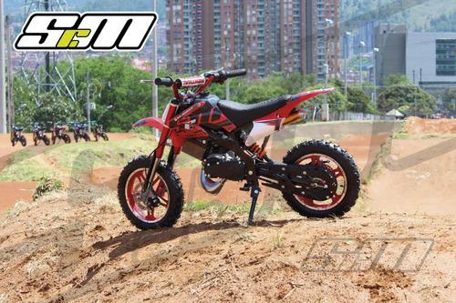 motos para niños a gasolina 50cc boton de encendido nuevas
