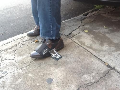 motos protector de zapato