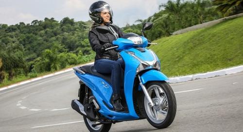 motos sh 150i zero de entrada - 2017
